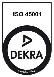Certifié ISO 45001:2018